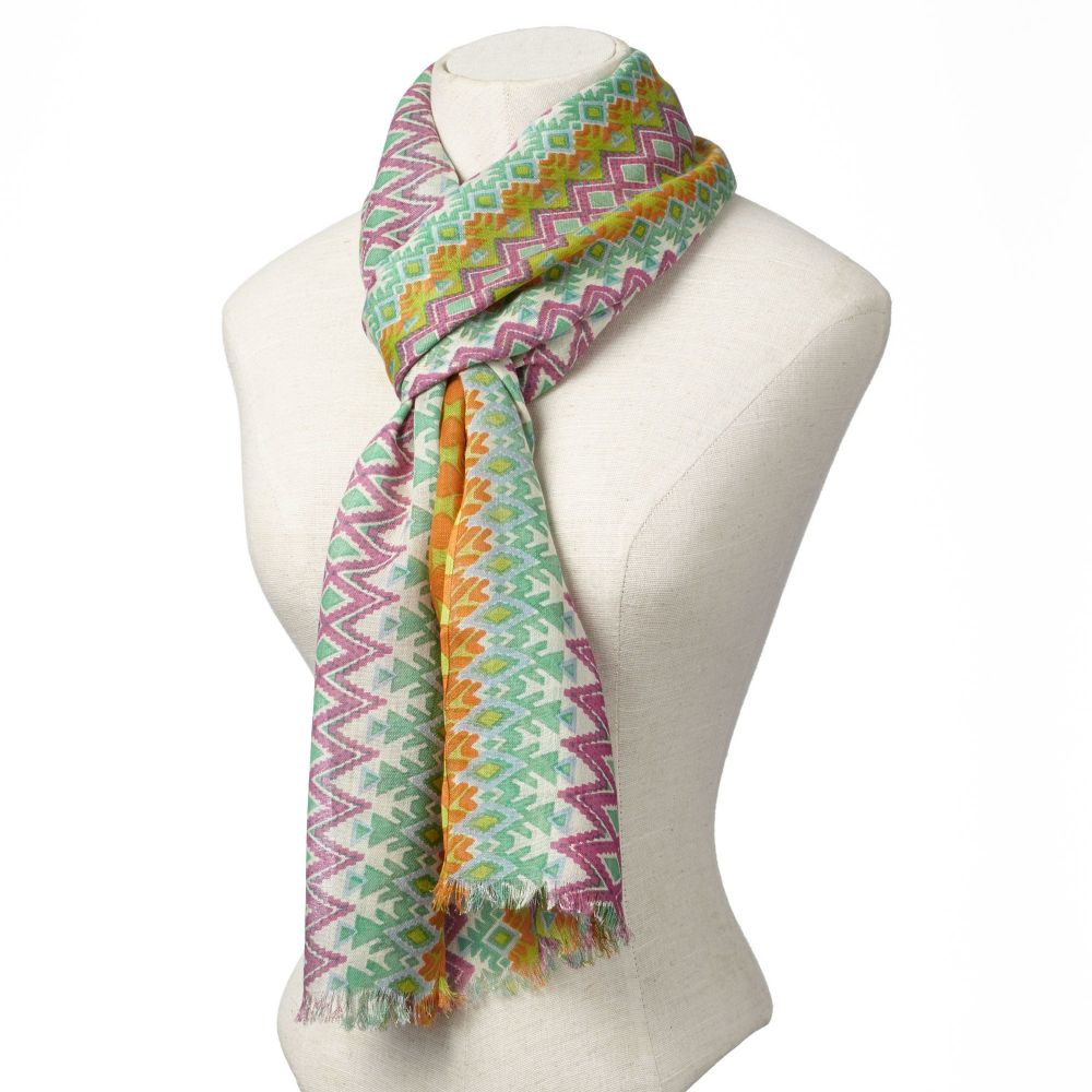 Boho Chic™ Multicolour Tribal Scarf 4049163